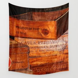 Wine crates Wall Tapestry