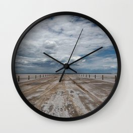Salt Roads Wall Clock