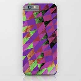 I COULDN'T CARE LESS iPhone Case