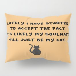 Cat Soulmate Pillow Sham