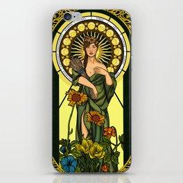 Queen of gluten/Goddess of harvest iPhone Skin