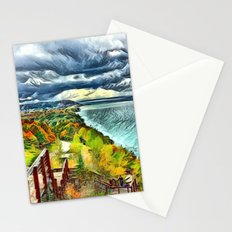 Stairs to Paradise (Water and Landscape) Stationery Cards