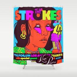 the strokes los angeles tour 2020 baukentut Shower Curtain