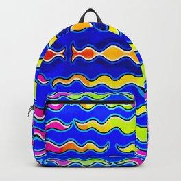 Multicolor Reverberation Backpack