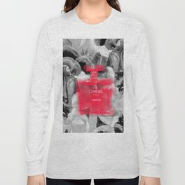 NO.五 - RED RUBY Long Sleeve T-shirt