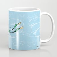 angel Mugs featuring Angel by Giuseppe Lentini