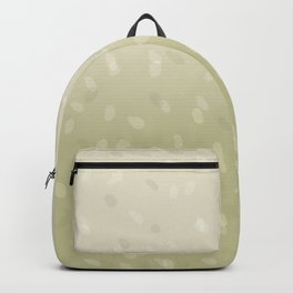 Green Ombre Dot Pattern Backpack