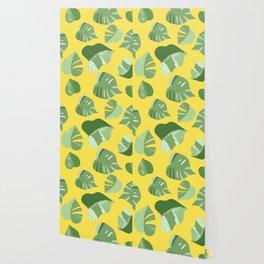 Monstera pattern Wallpaper