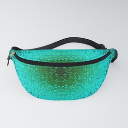 Imploding Sphere Abstract Fanny Pack