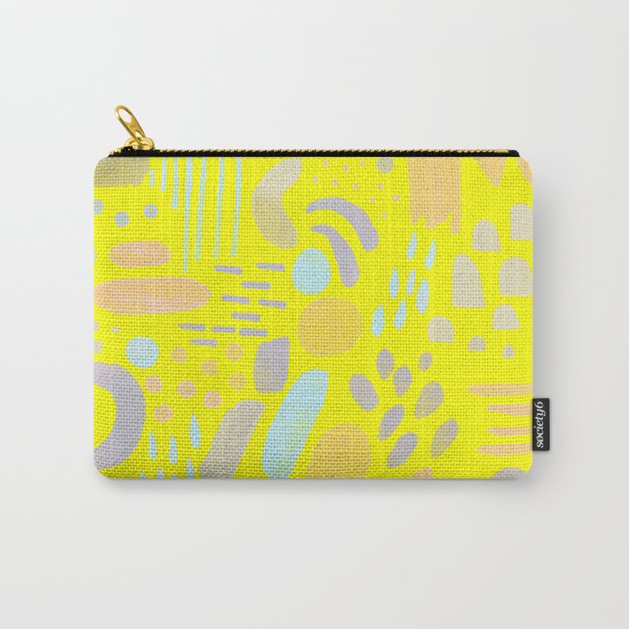Dancing shapes Carry-All Pouch