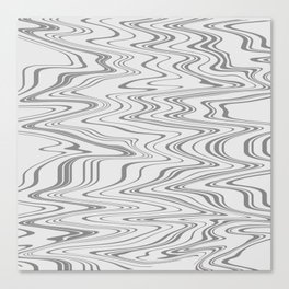 Those Abstract Lines Canvas Print