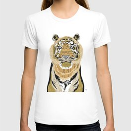 Tiger Collage T-shirt