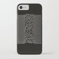 joy division iPhone & iPod Cases featuring Joy Division - Unknown Pleasures by juice debowski-yu