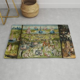 The Garden Of Earthly Delights (Extreme High Quality) Rug