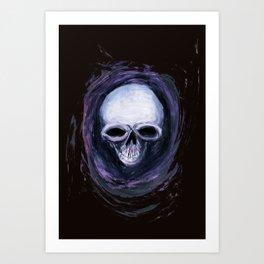 Skull Shirt Design #2 Art Print