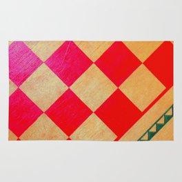 Vibrant Checkmate Rug