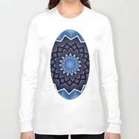 buddha Long Sleeve T-shirts featuring Buddha by Julie Maxwell