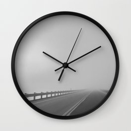 Travel Anyways Wall Clock