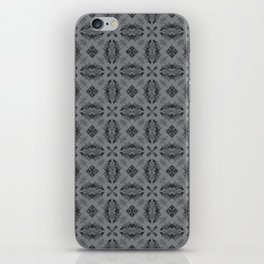 Sharkskin Diamond Floral iPhone Skin