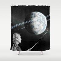 teacher Shower Curtains featuring Teacher by Cs025