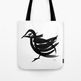 Bird - fusion of pen strokes Tote Bag