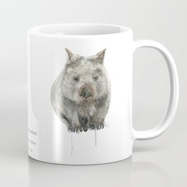 Wombat watercolour Coffee Mug