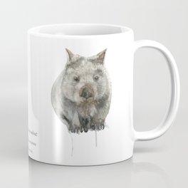 Wombat watercolour Coffee Mug