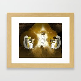Yeshua has Risen! Framed Art Print