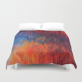Hell Flame Duvet Cover