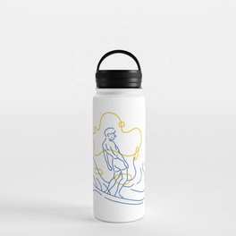 Surfer Water Bottle