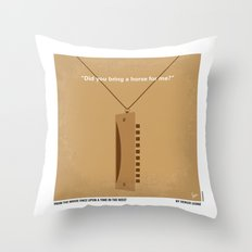 No059 My once upon a time in the west minimal movie poster Throw Pillow