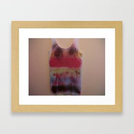 Rainbow-Spray Graffiti Art Print. Framed Art Print