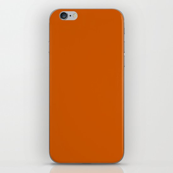 Burnt Orange - solid color by makeitcolorful
