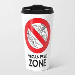 Vegan Free Zone Travel Mug