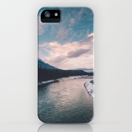 Icefields Parkway, AB III iPhone Case