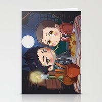 clueless Stationery Cards featuring The Stiles&TheTramp by MGNemesi