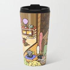 NekoWatch Metal Travel Mug