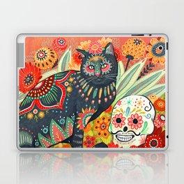 Dia De Los Muertos Cat Laptop & iPad Skin