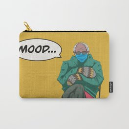 Comic Bernie Mittens Carry-All Pouch