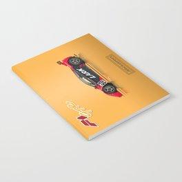 McLaren F1 GTR #13R - 1996 Le Mans - Side View Notebook
