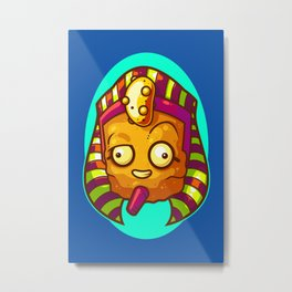 King Tater Tut Metal Print