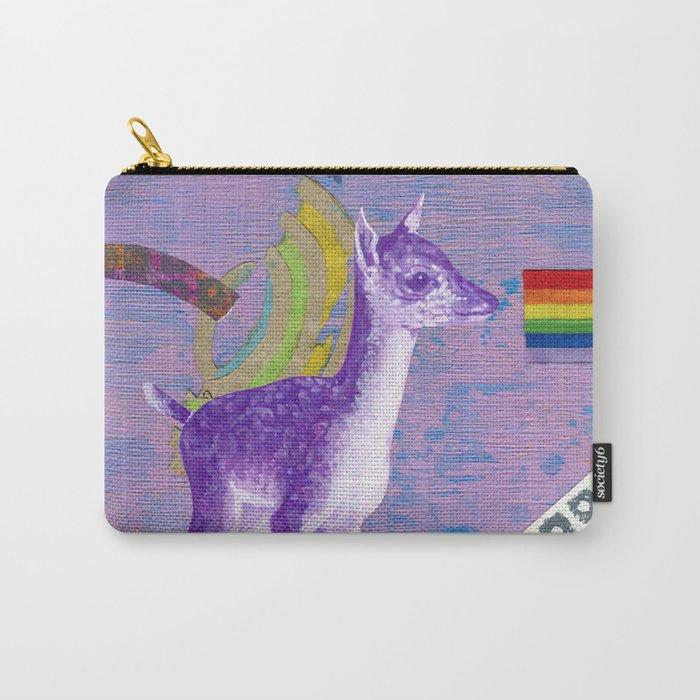 rainbow deer 1 Carry-All Pouch