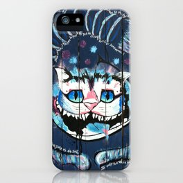 Cheshire Somewhere iPhone Case