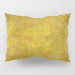 """""""Gold & Ocher Burlap Texture"""" Pillow Sham"""