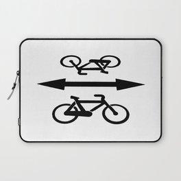 Bike lane Laptop Sleeve