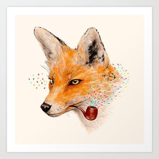 Fox VI Art Print