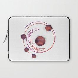 Twirly Sunset Spheres Laptop Sleeve