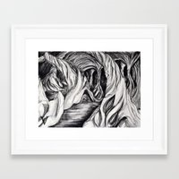 et Framed Art Prints featuring et by chipkeevervisual