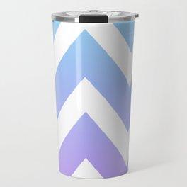 Gradient Chevron Travel Mug