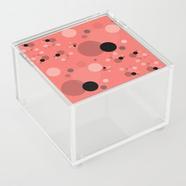 Coral Dots Acrylic Box